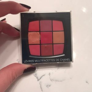 Chanel lip palette limited edition